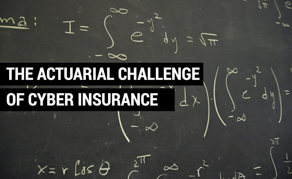 The actuarial challenge of cyber security : Manx Technology