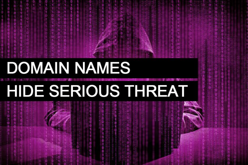 Domain Names may hide a serious threat