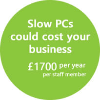 Slow PCs could cost your business £1700 per year, per staff member