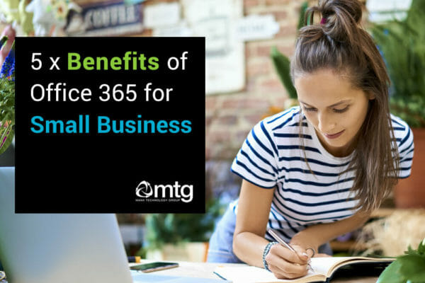 5 benefits of O365