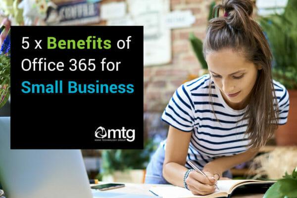 5 benefits of O365