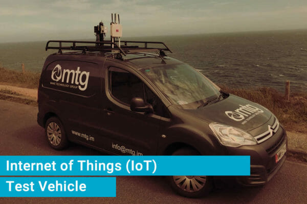 Internet of Things Test Vehicle