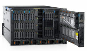 Dell Blade Chassis with Blade Servers