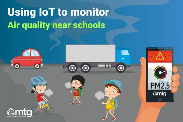 Monitoring air quality near schools